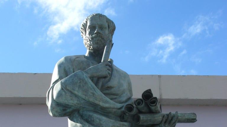 Aristotel, Sursa History.com