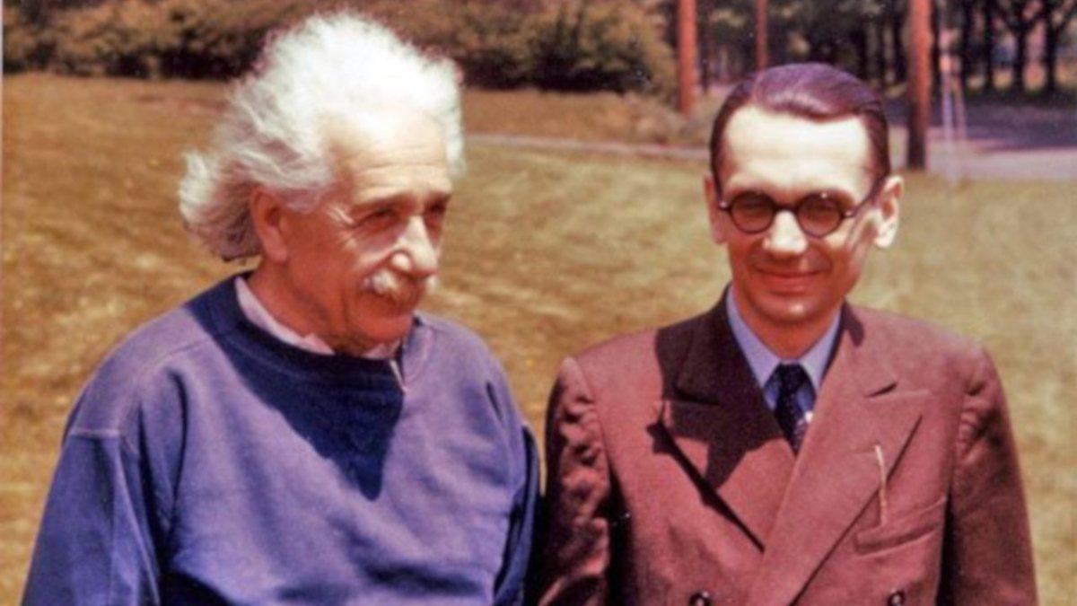 Albert Einstein si Kurt Godel