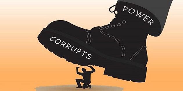 Sindromul Hybris, Excesul de putere si coruptia, Sursa ThinkingOregon