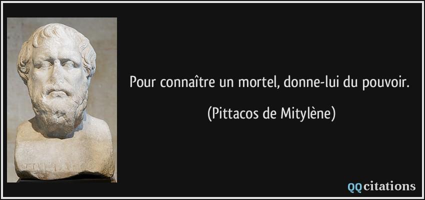 Pittacos din Mytilene