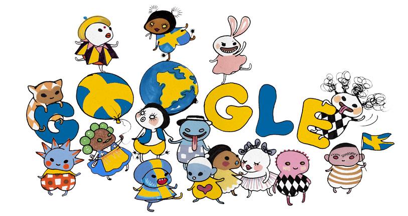 Google Doodle, aniversarea lui Puskin