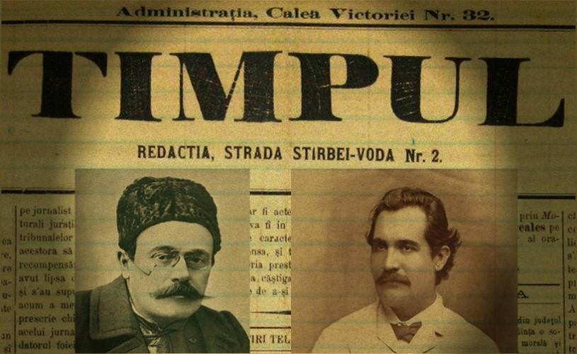 Mihai Eminescu, Timpul