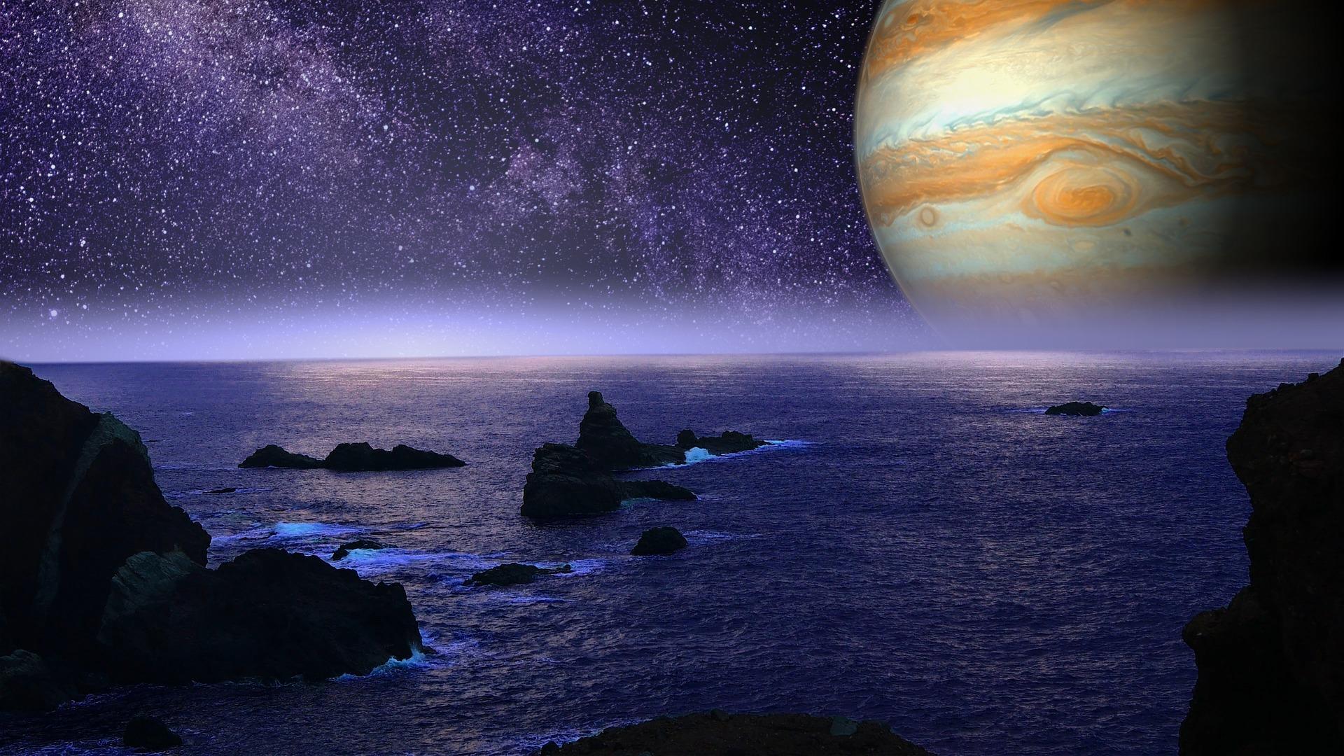 Planeta Europa, satelitul natural al lui Jupiter