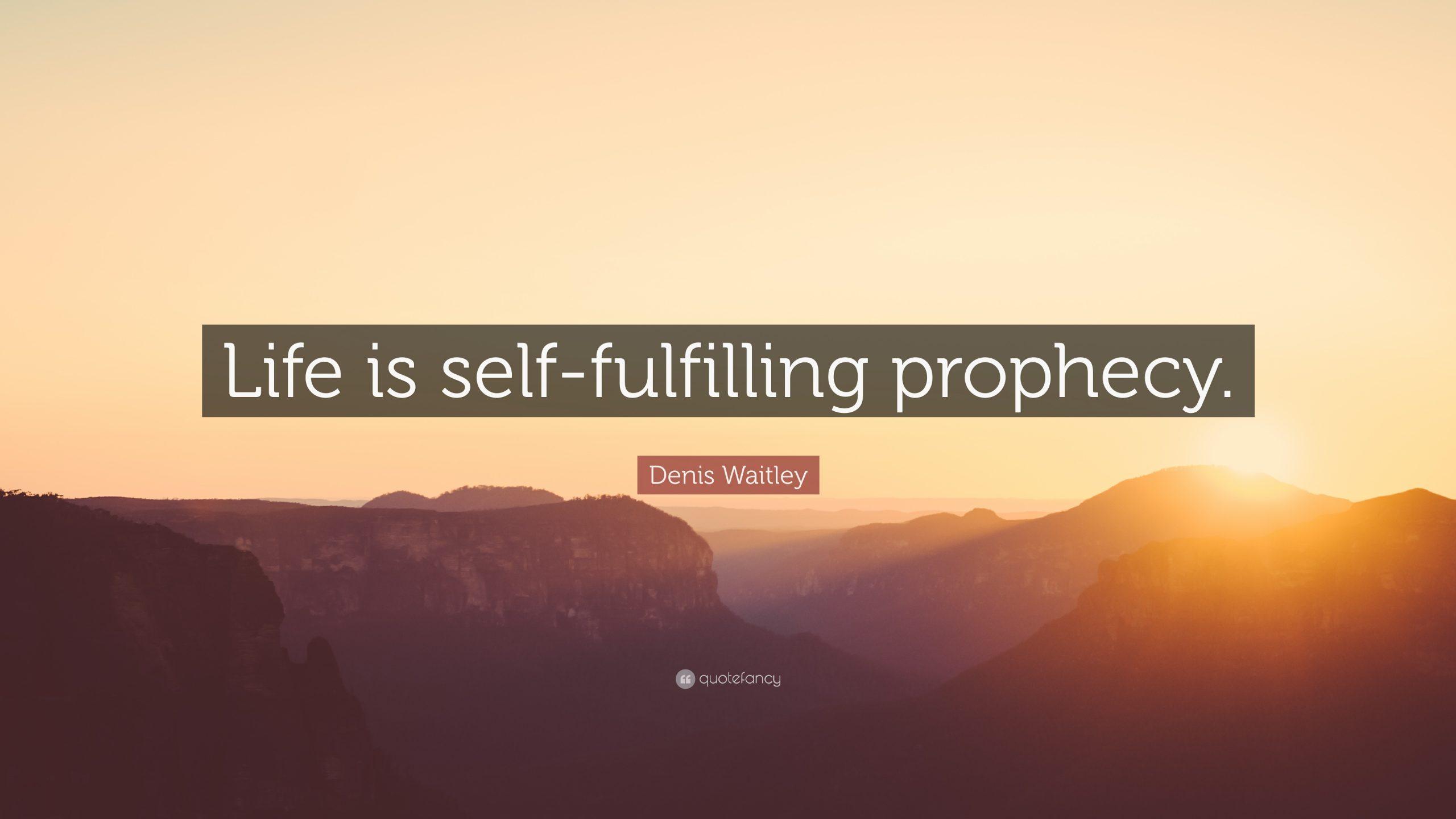 Profeţia autoimplinită