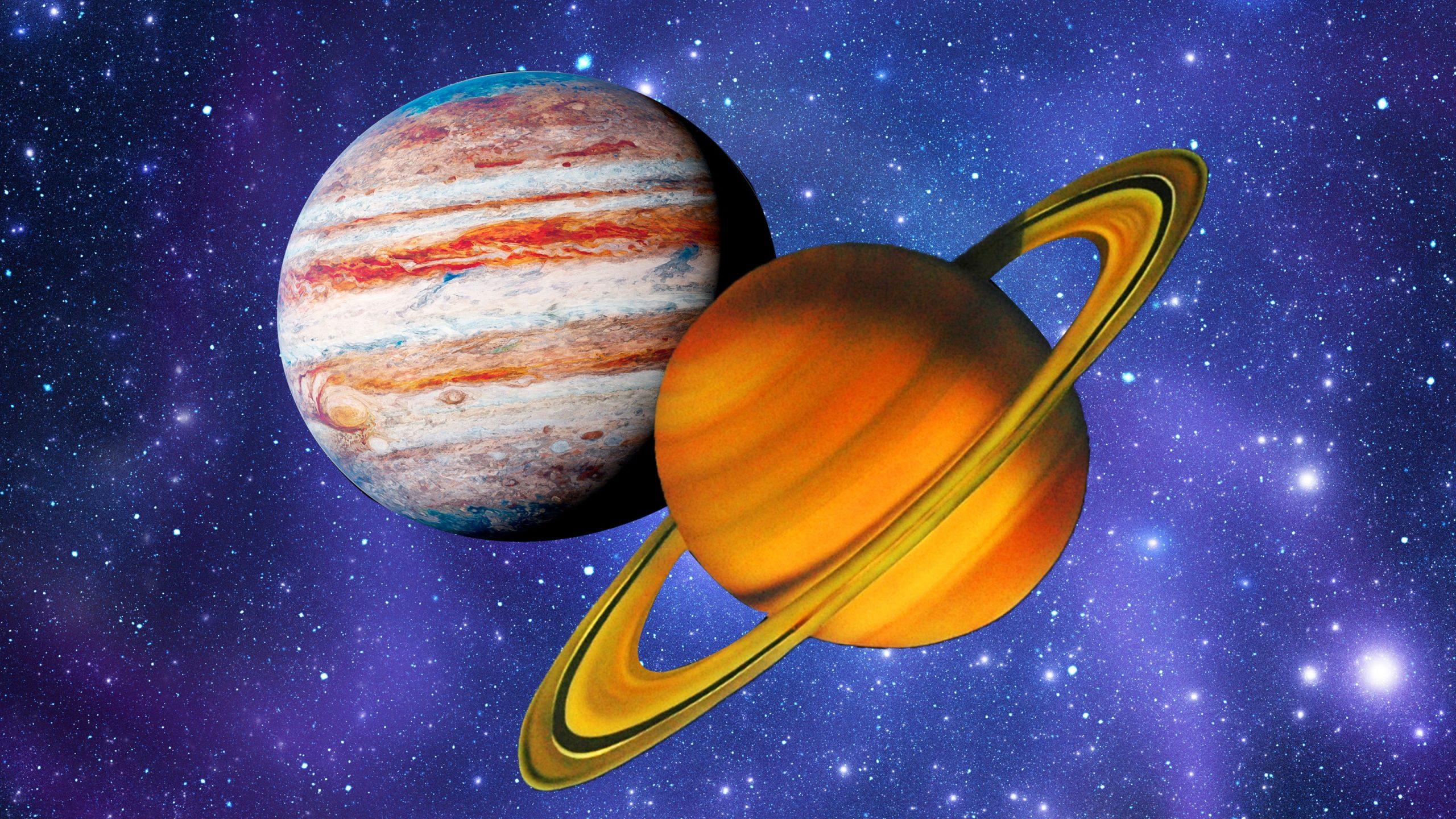 Solstiţiul de iarnă 2020, Conjuncţia Jupiter - Saturn