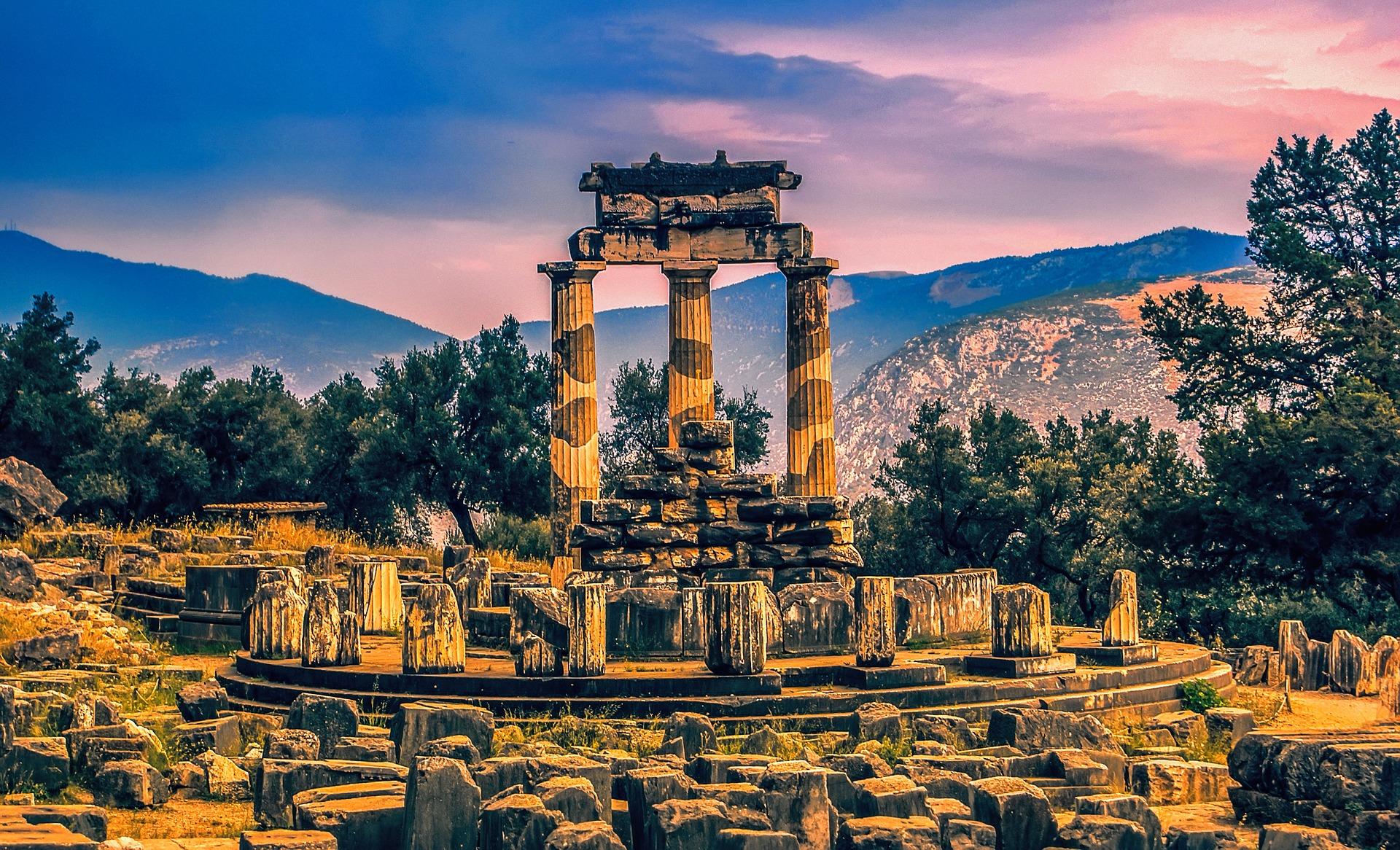 Templul din Delphi