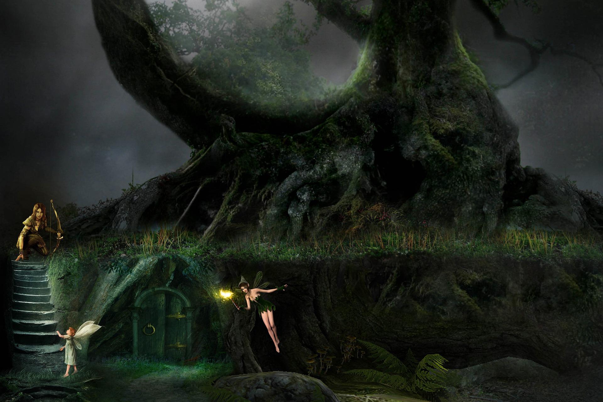 Fortele magice ale copacilor