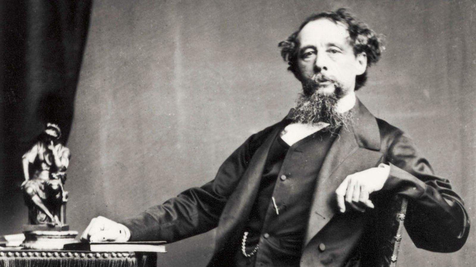 Harta literară a lumii, Charles Dickens