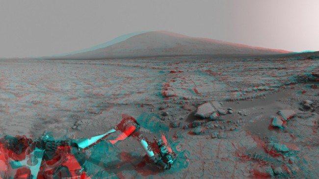 Craterul Gale, Marte