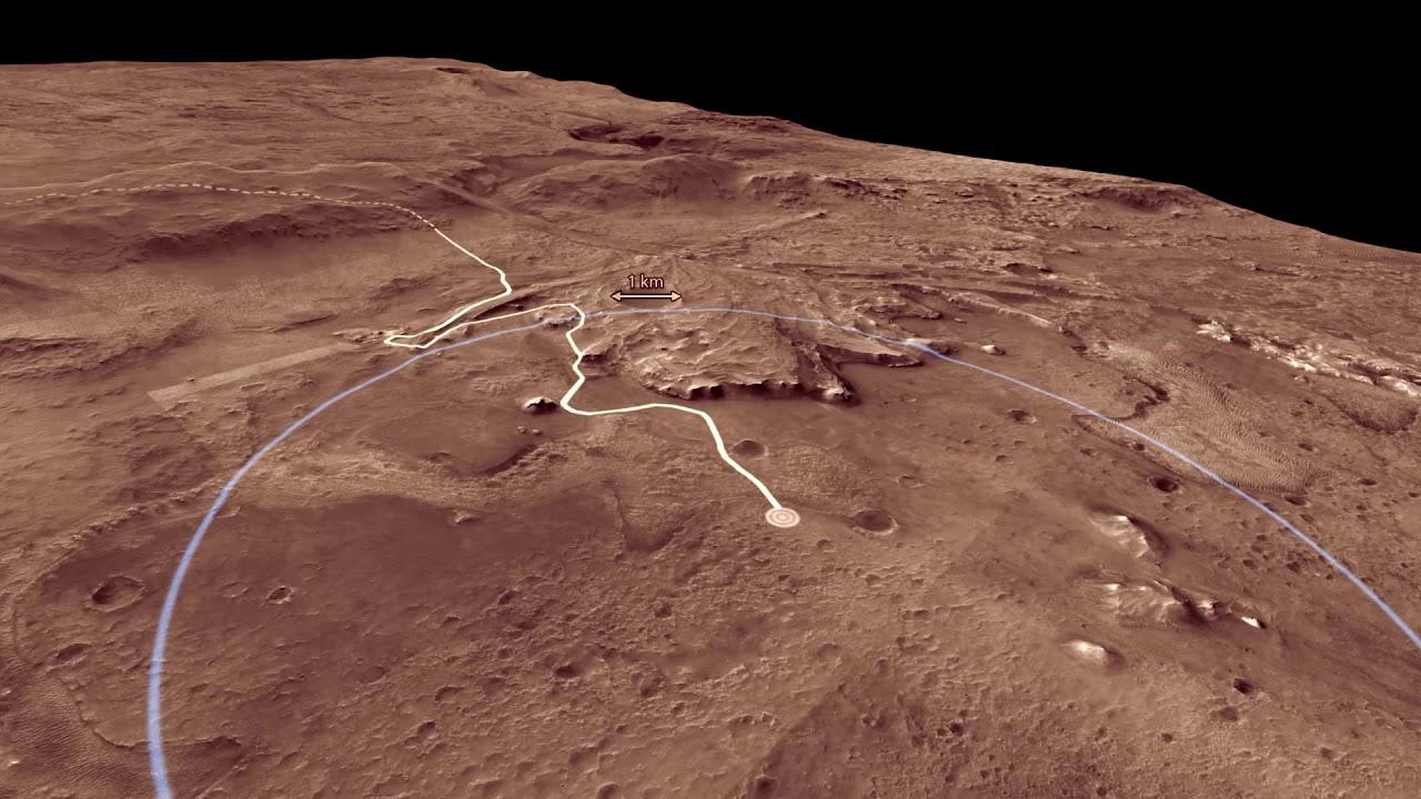 Marte, Craterul Jezero