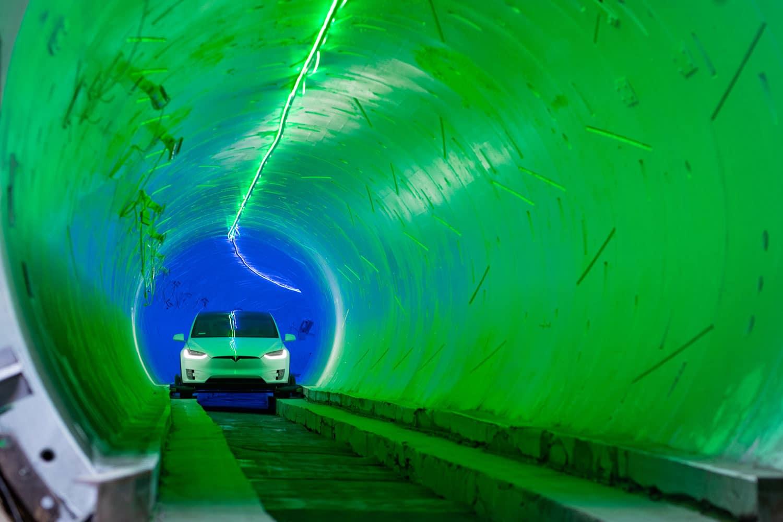 Elon Musk, Boring-tunnel