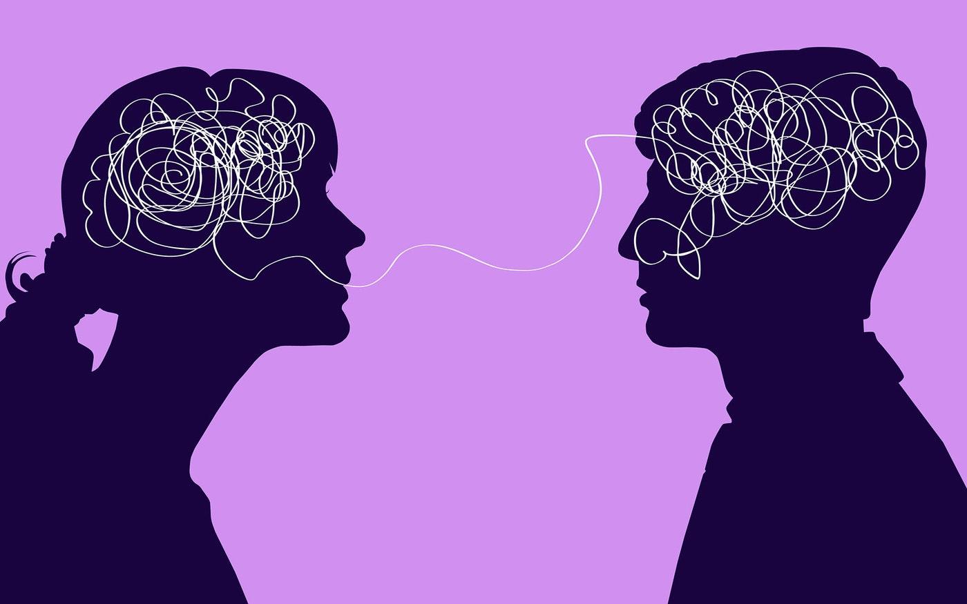 Femeile vorbesc mai mult decât bărbaţii, Sursa Mindful.org