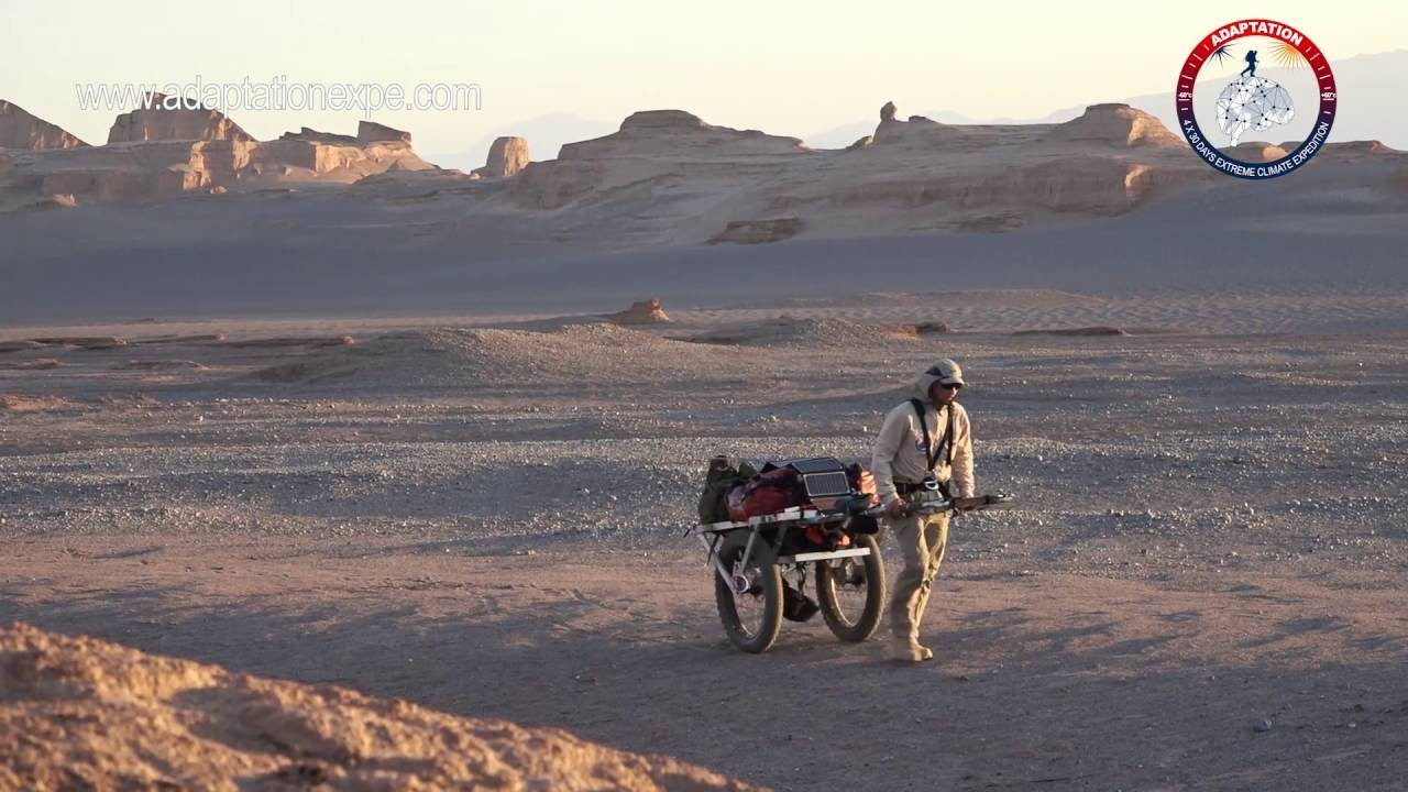 Christian Clot, experiment Desertul Dash-E Lut