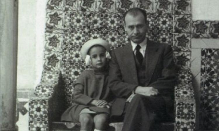 Lucian Blaga si fiica sa, Dorli Blaga