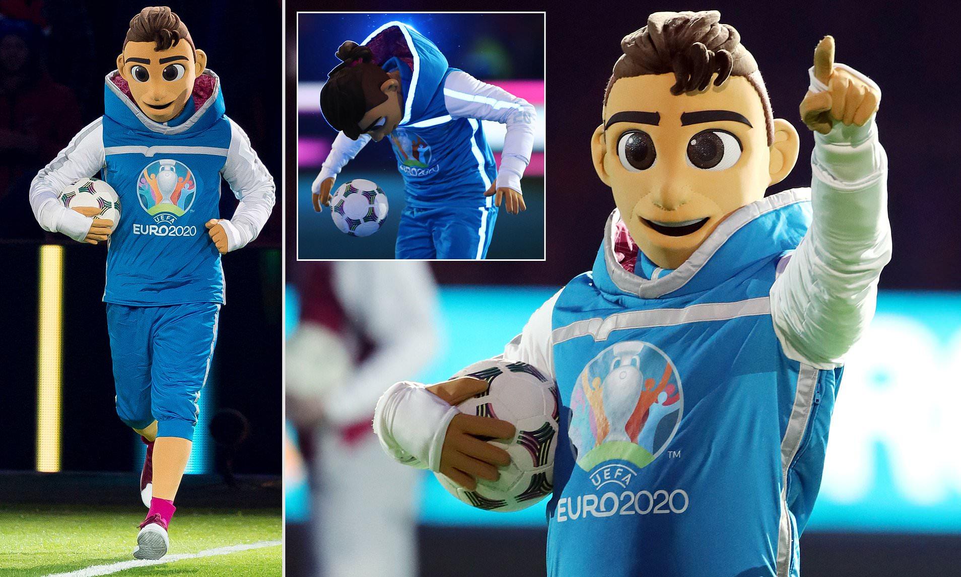 Skillzy - mascota EURO 2020