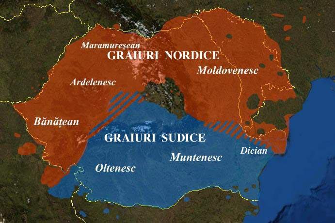 Graiurile limbii romane, graiul ardelenesc