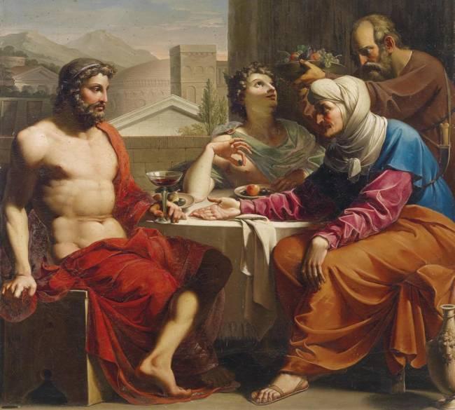 Ambrozie si nectar, Hrana zeilor