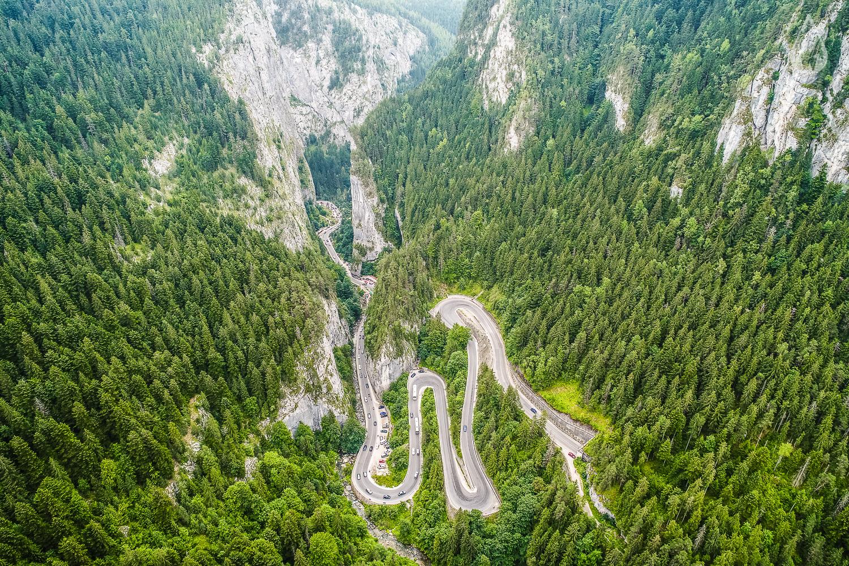 Top 7 cele mai spectaculoase şosele din România, Cheile Bicazului