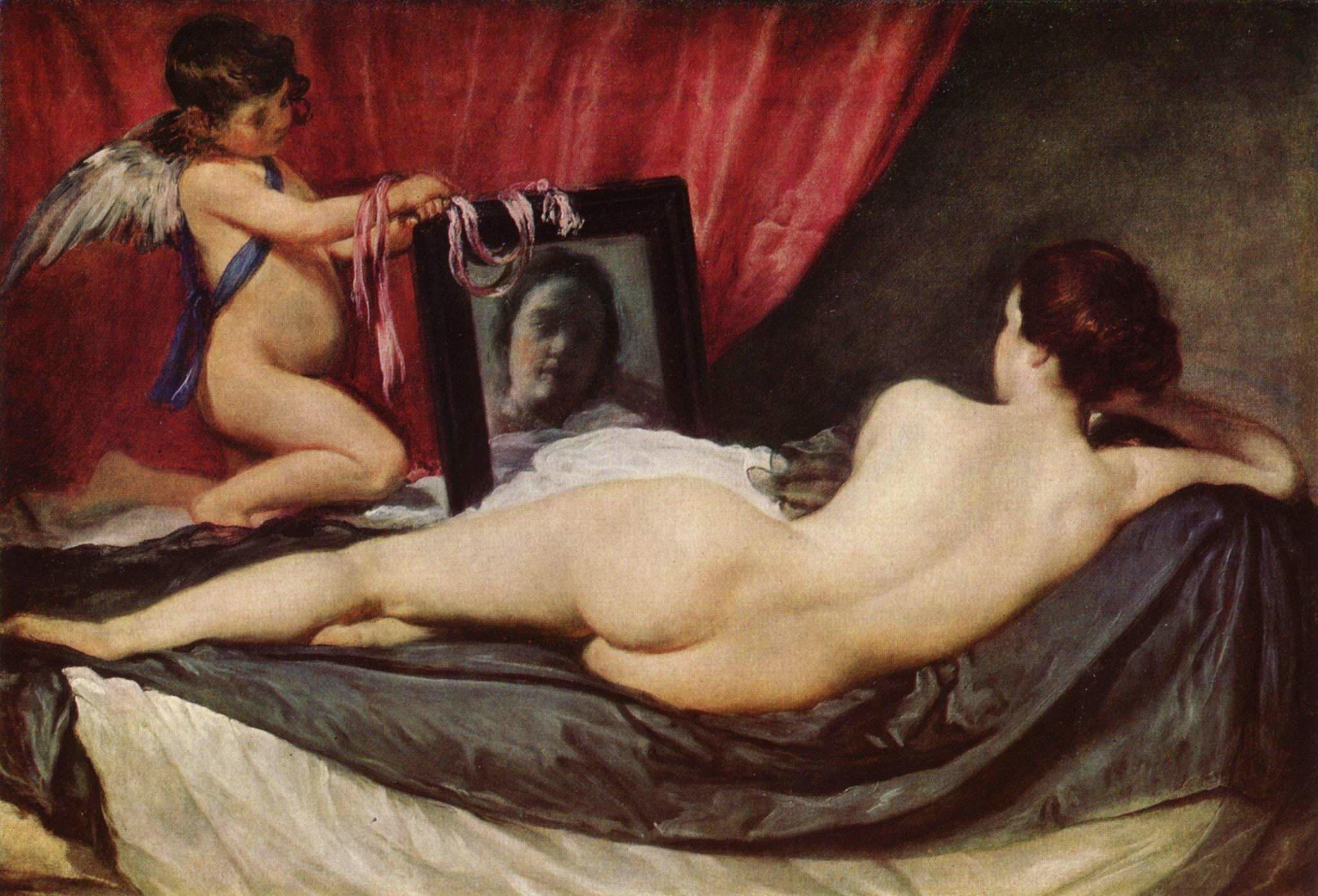 Velasquez, Venus in faţa oglinzii