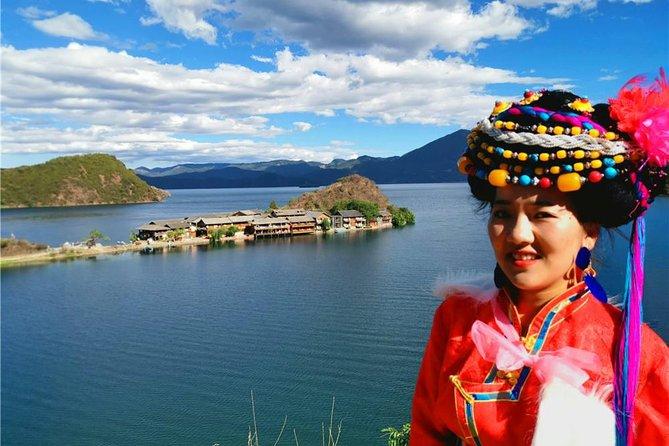 Femeie Moso, Lacul Lugu