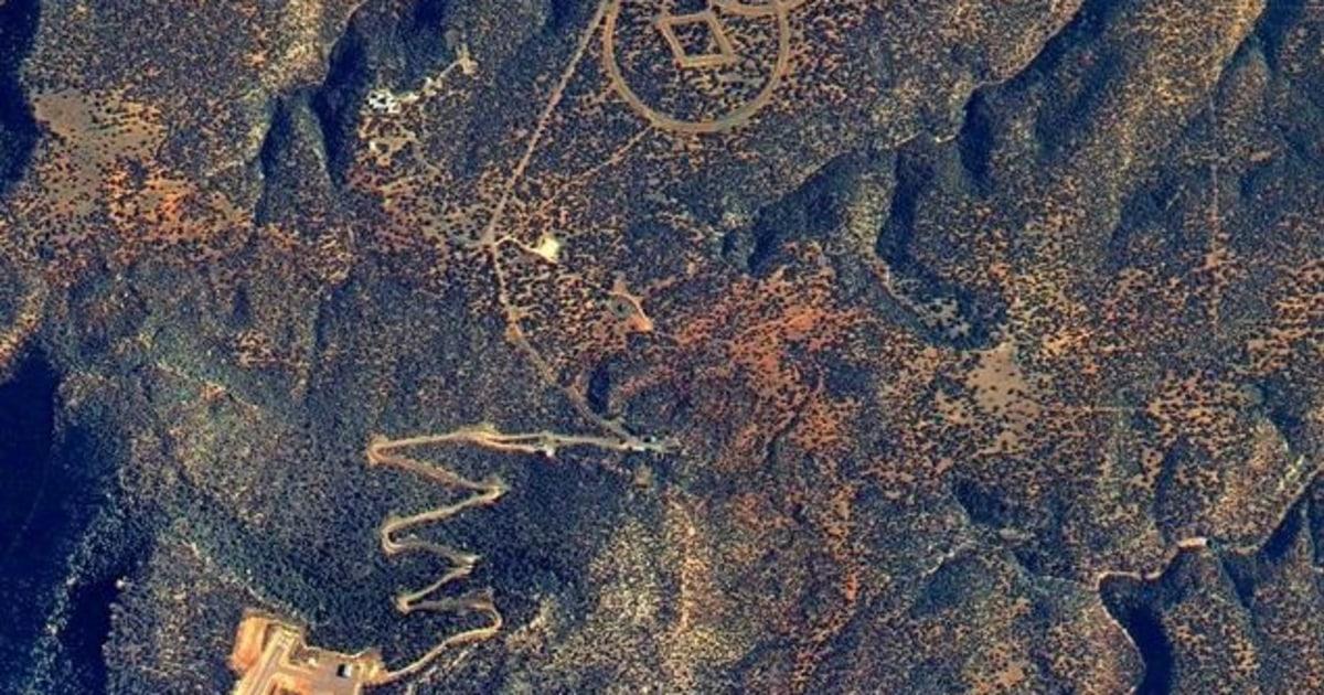 Forme stranii în deşertul Nevada