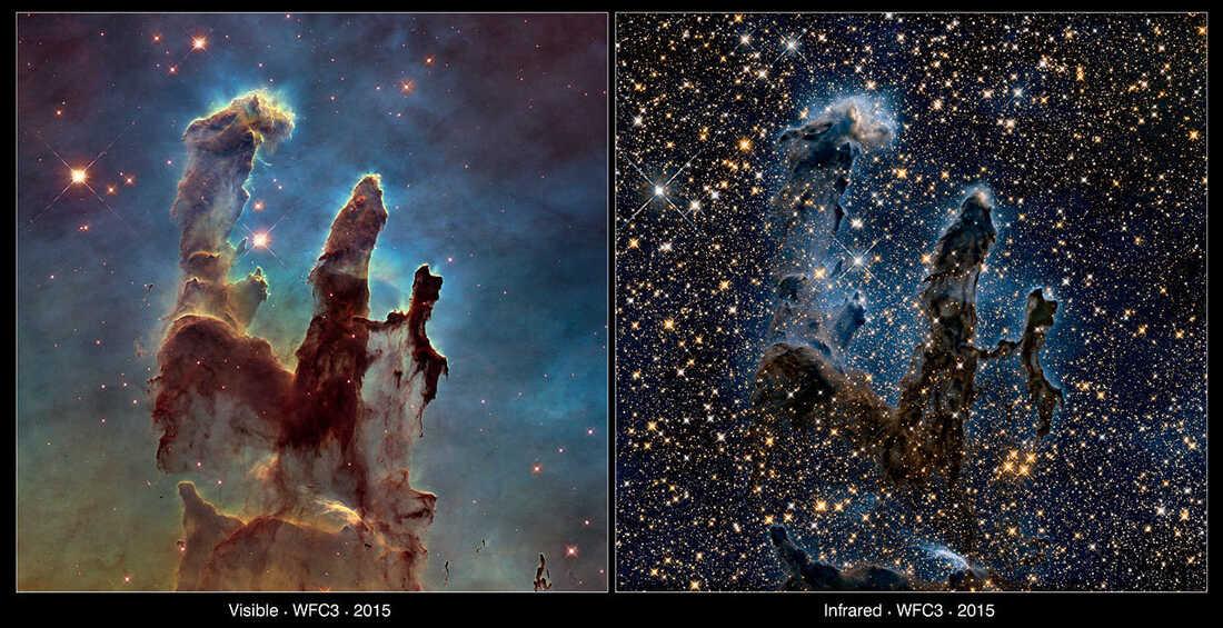 Imagini transmise de Telescopul Hubble