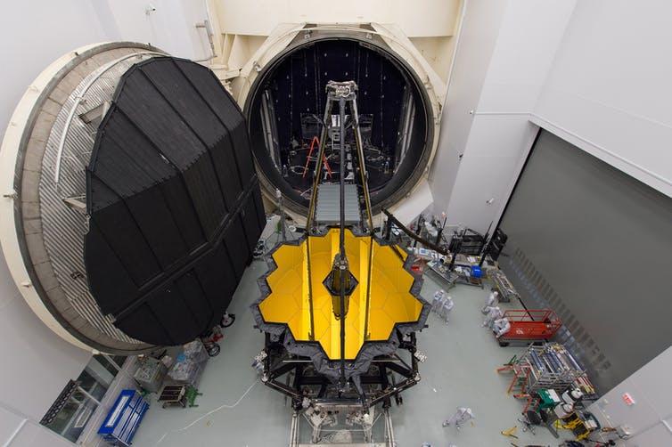 JWST si racheta de lansare