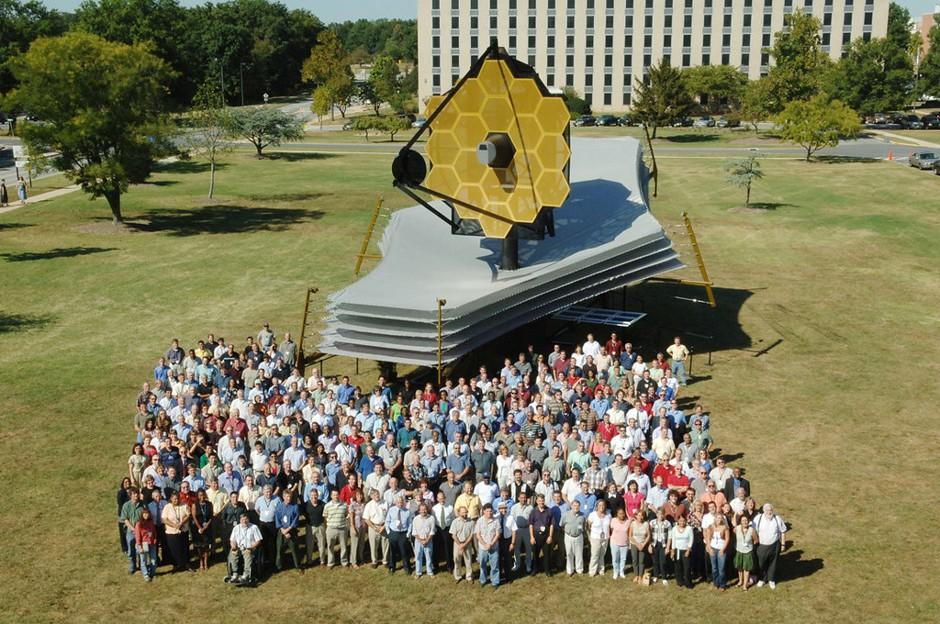 Telescopul spațial James Webb, echipa proiectului